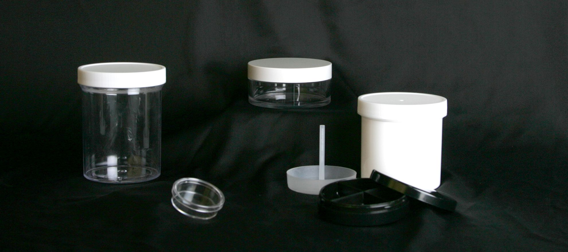 Picture of 12oz, Jars - Clear Polystyrene