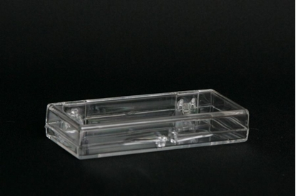Picture of H-10, Hinged Box - Clear Polystyrene