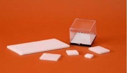 Picture of 2916W, White Styrofoam Insert for Black Based Plastic Boxes