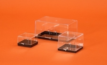 Black Based Plastic Boxes