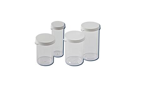 Container w/ Snap Cap 3 Dr, Snap Cap Vials