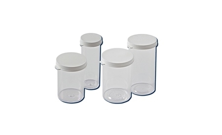 Container w/ Snap Cap 30 Dr, Snap Cap Vials