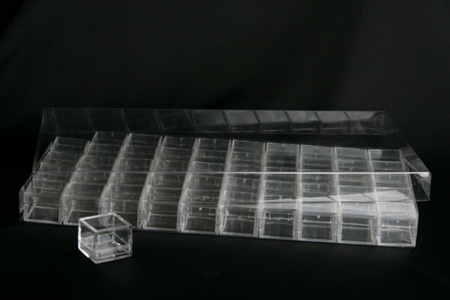Picture for category Accessories - Flat Containers for Display