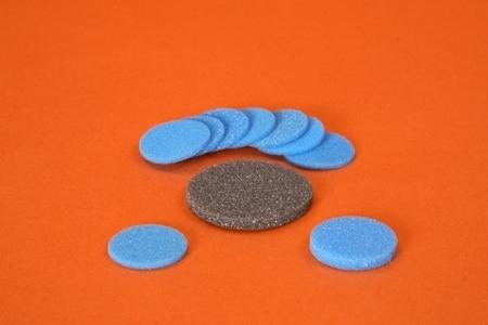 Round Polyester Foam Insert