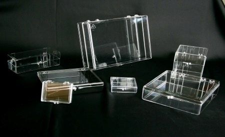 Clear Hinged Boxes