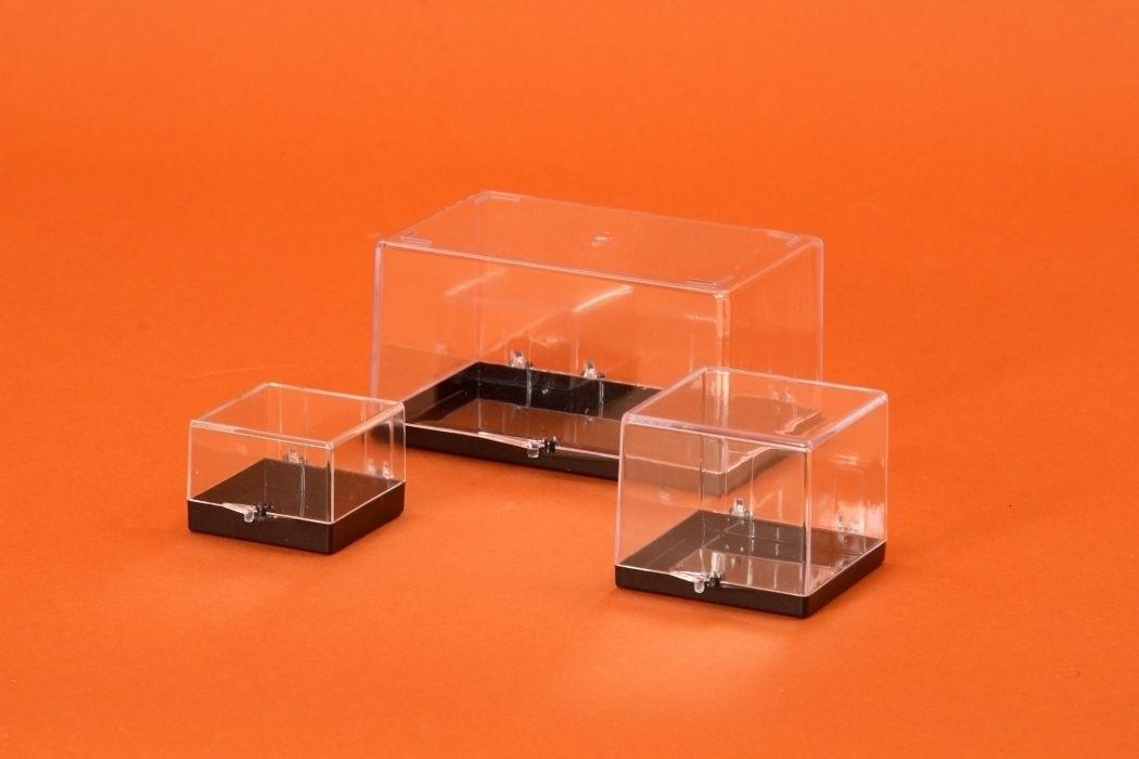 Black Base Plastic Box