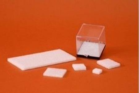 White Styrofoam Insert for Black Based Plastic Boxes