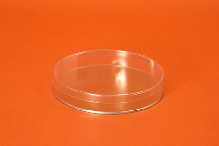 Round Container, Metal Bottom